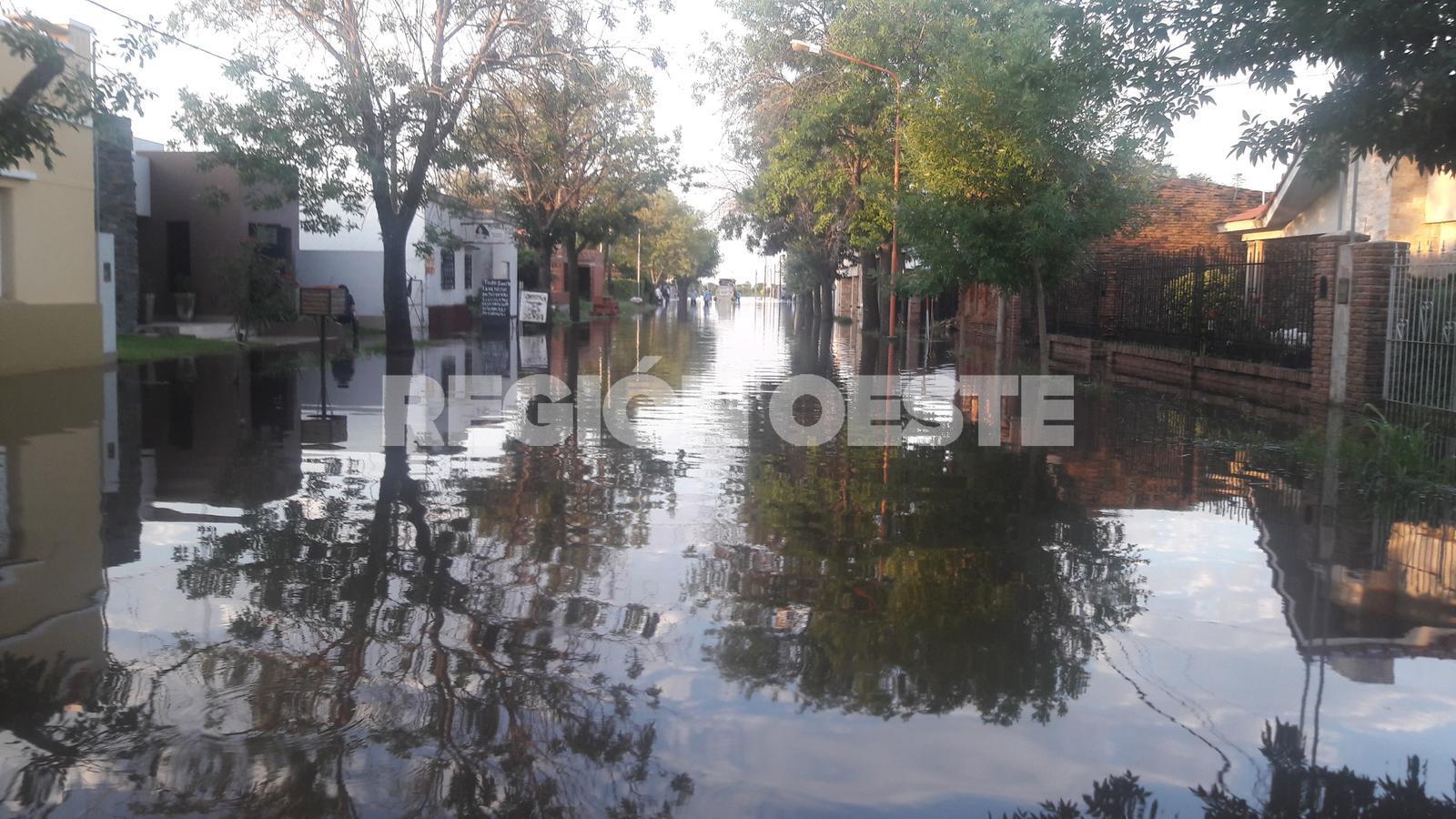Inundación en Ramona