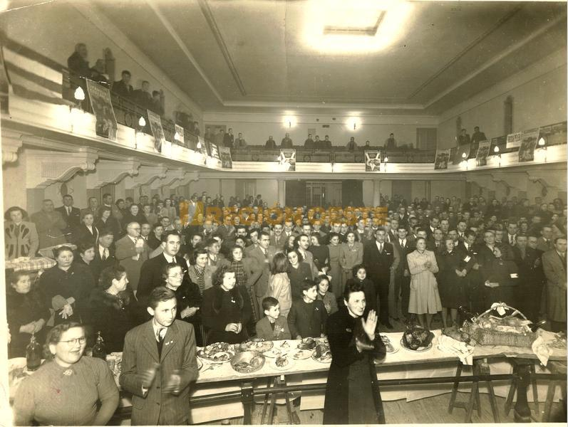 Fiesta de la Victoria en la Kadima (fin de la Segunda Guerra Mundial)
