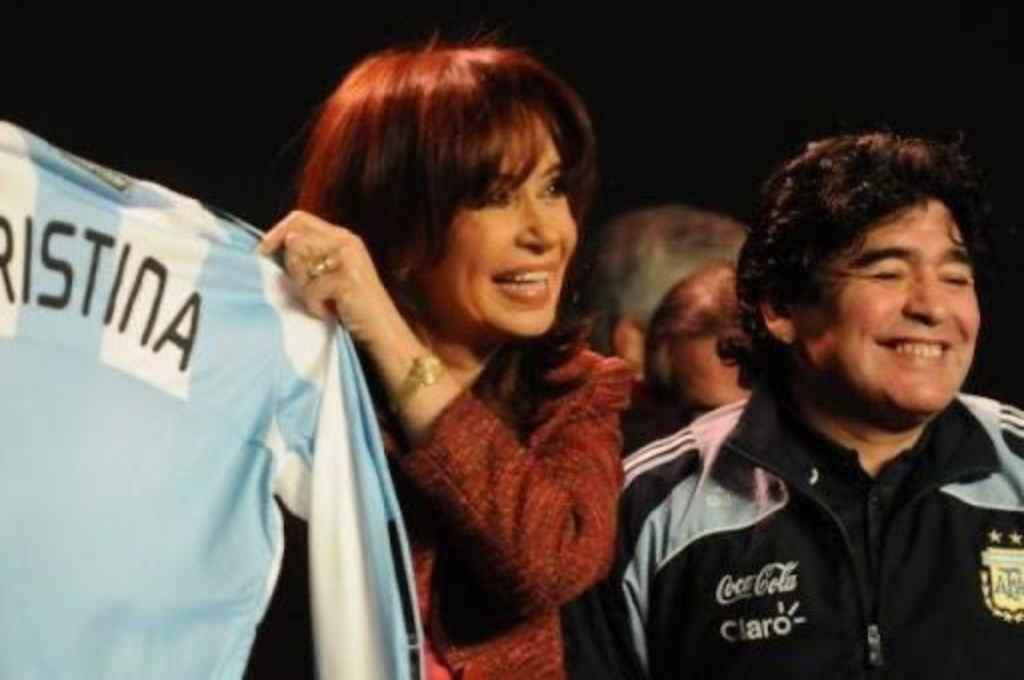 CFK y El Diego