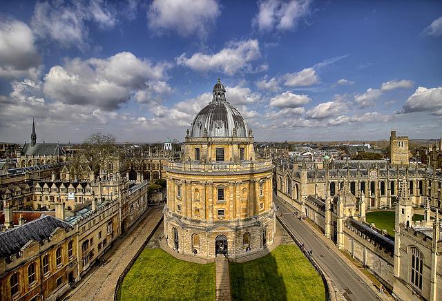 Vista de la Biblioteca Radcliffe de la Universidad de Oxford