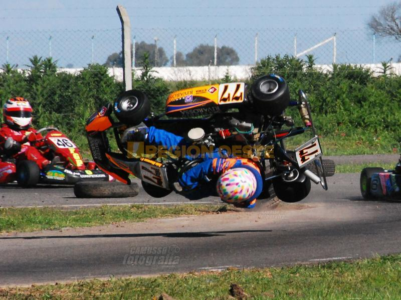 Accidente de Karting, año 2008
