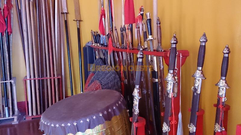 Herramientas utilizadas para practicar Kung Fu