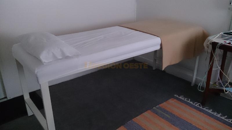 Sala de masajes en el Gimnasio CIEM