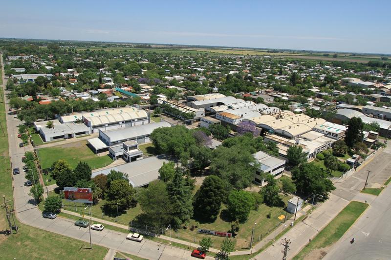 Vista aérea de la planta industrial de BASSO en Rafaela
