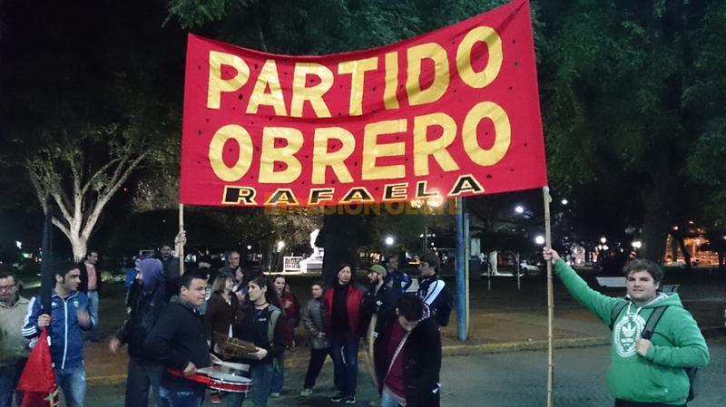 El Partido Obrero fue una constante de la protesta en todo el país
