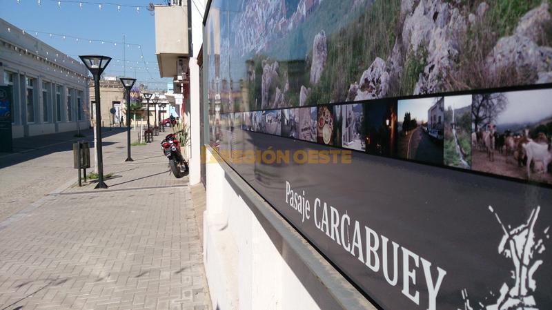 Pasaje Carcabuey en la ciudad de Rafaela