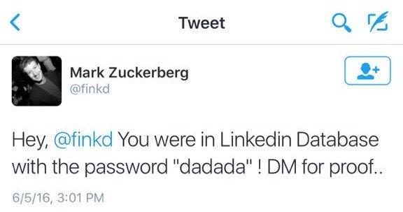 El tweet de los piratas informáticos