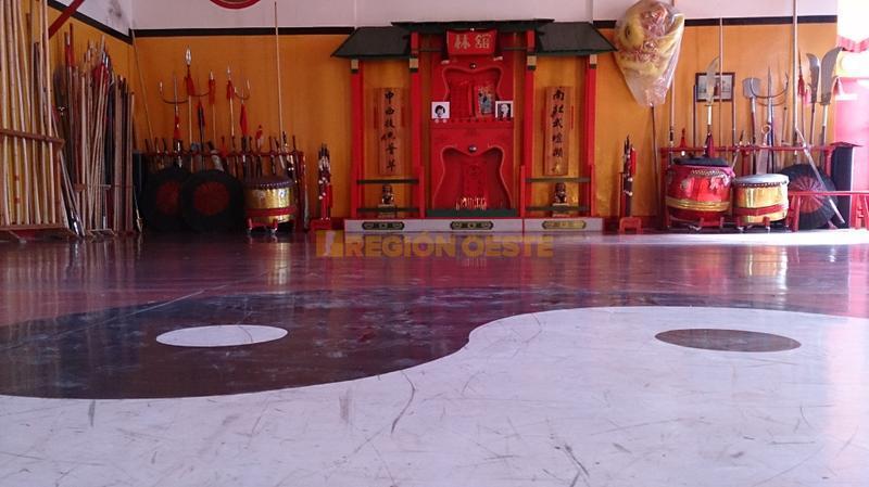 Escuela de Kung Fu de la ciudad de Rafaela