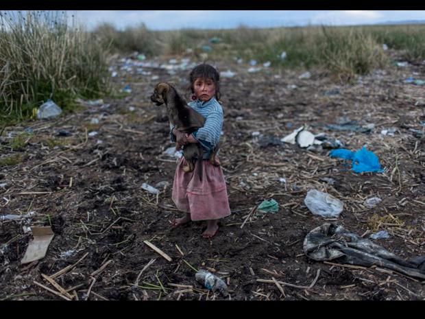 Contaminación en el Titicaca