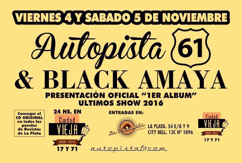 Autopista 61 Despide 2016 junto a Black Amaya & Festeja 8 Años