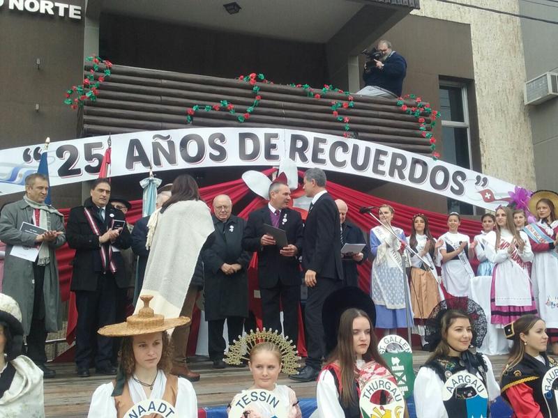 25 Fiesta del Folklore Suizo en San Jerónimo Norte