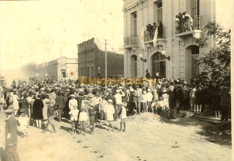 Inauguración de la Kadima en 1929
