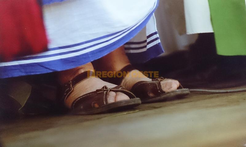 Visita de la Madre Teresa a Rafaela, el 18 de septiembre de 1982