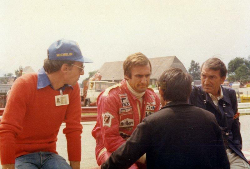 Con el Lole, Franco Lini y Du Pascuid